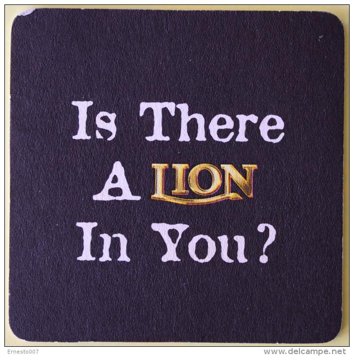 SRI LANKA >LION<  BEER NEW (BIERDECKEL) - Sous-bocks