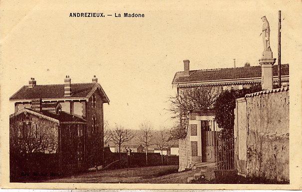 ANDREZIEUX - La Madone - - Andrézieux-Bouthéon
