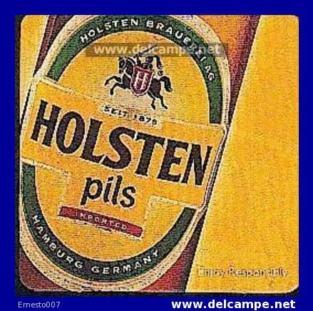 "BEER MATS FROM GERMANY ""HOLSTEN PILS"" New/neu - Beer Mats"