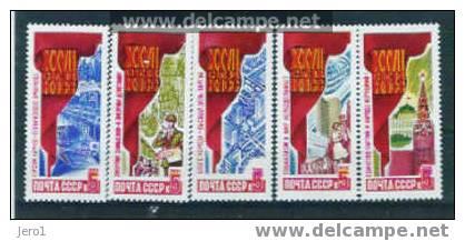 Rusland Y&T Nr° 5363/67**  1986 - 1923-1991 USSR