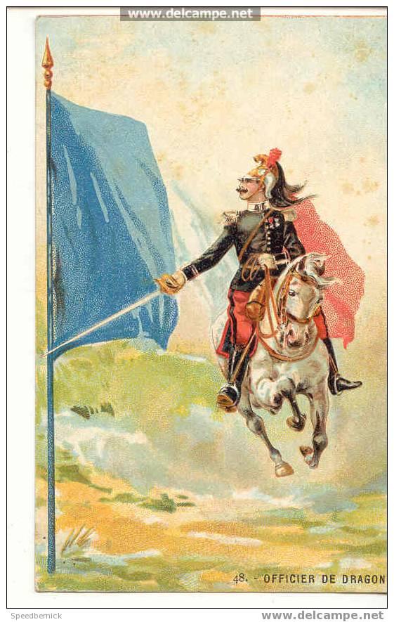 2149 Officier De Dragons 48 Collection De L'armée Française En 50 Sujets - Uniformes