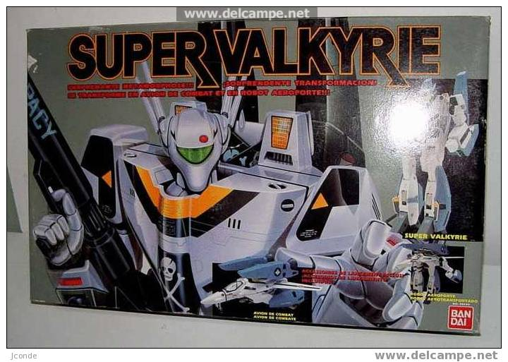 Robot Super Valkyrie De BANDAI AÑOS 80 - NUEVO EN SU CAJA ORIGINAL, NUNCA ABIERTO - Transformers