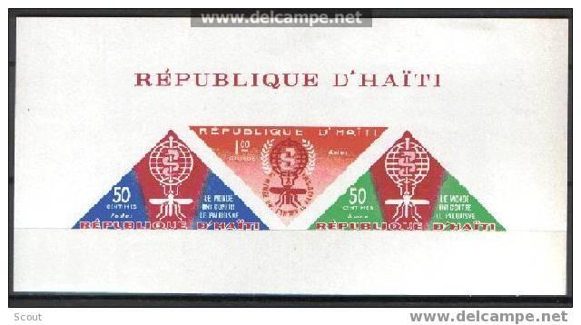 HAITI - ERADICATION DU PALUDISME - YT BF -- SC C190a * - Non Classificati