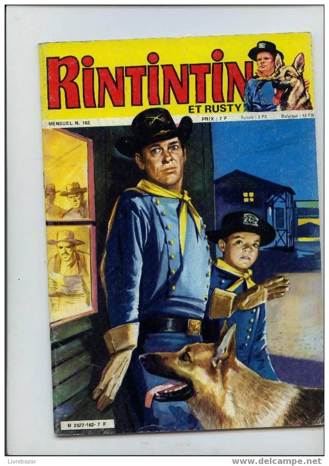 Rintintin Et Rusty N°162 éditions Sagédition - Rintintin