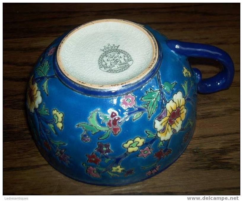 Tasse à Moustache - Moustache Kop - Mustache Cup - TA 166 - Ceramics & Pottery