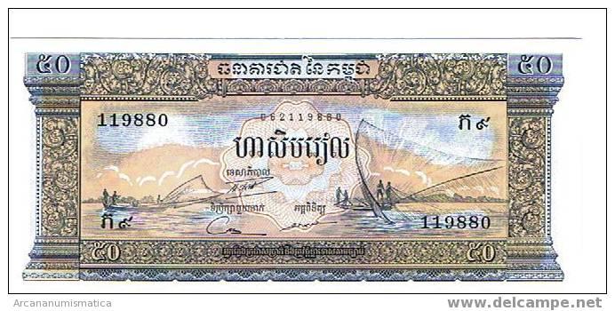 CAMBOYA,50 RIELS 1956-75 K7 SC   DL-2558 - Cambodia