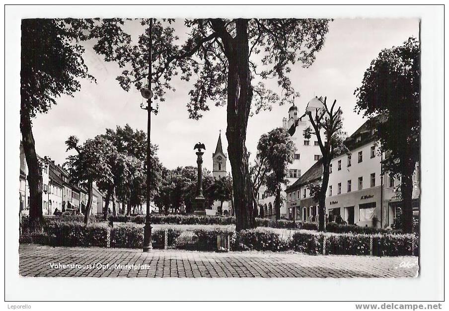 AK VOHENSTRAUSS Platz R*937 - Deutschland