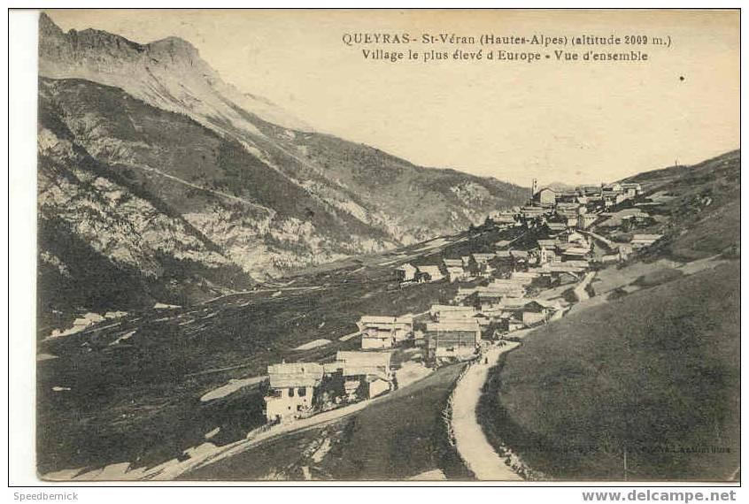2558 Queyras St Véran Village Le Plus élevé D'Europe . Vue D'ensemble . éditeur Illisible - Non Classés