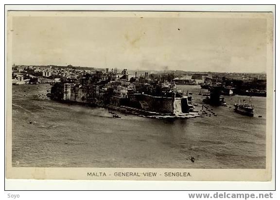 General View Senglea - Malte