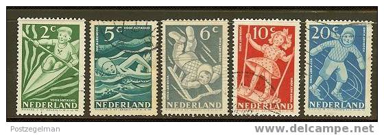 NEDERLAND 1948 Kinder Serie 508-512 Used # 1158 - Period 1891-1948 (Wilhelmina)