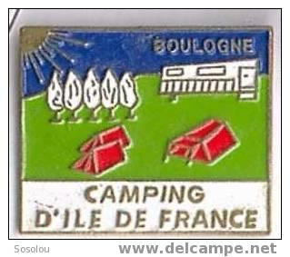 Camping D'Ile De France. Boulogne - Villes