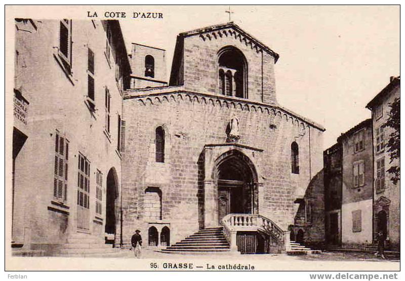 06.GRASSE. La Cathédrale. - Grasse