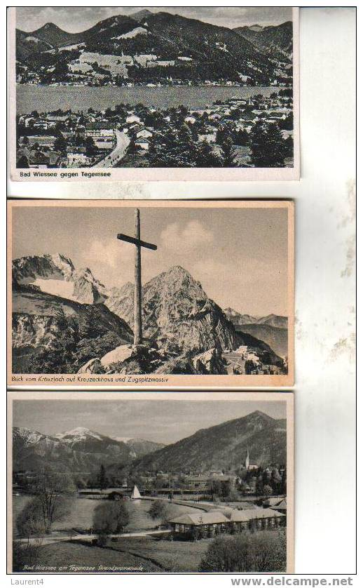 5 Carte Ancienne D´Allemagne - Autriche - Suisse - 5 Old Postcard From Germany / Austria / Switzerland - Cartoline