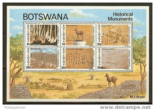 BOTSWANA 1977 MNH Block 12 Monument  F2373 - Monuments