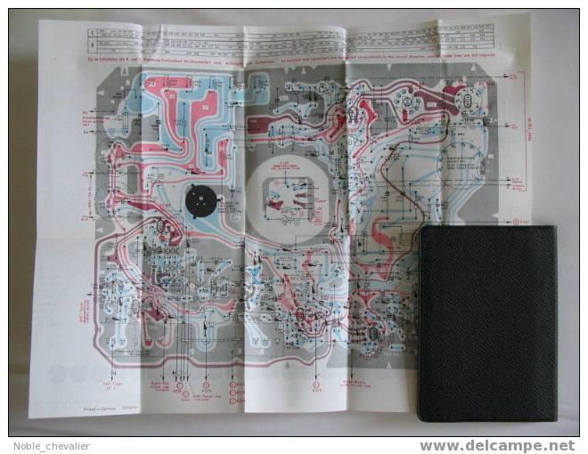 GRUNDIG KALENDER 1965 MIT SCHALTPLAN GROSS + AUSKLAPPBAR * * *  WIE NEU !! - Petit Format : 1961-70