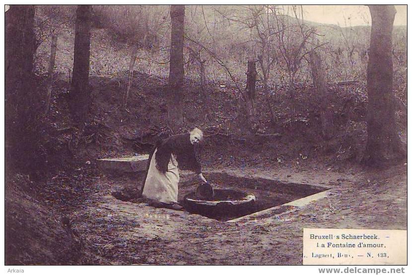 SCHAERBEEK = La Fontaine D'amour  (Lagaert Bxl  N° 133) 1907 - Schaarbeek - Schaerbeek