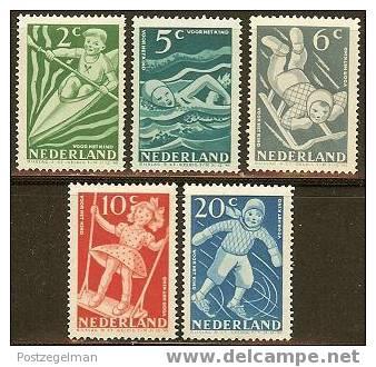 NEDERLAND 1948 Unused No Glue Stamp(s) Child Welfare 511-515 #303 - Period 1891-1948 (Wilhelmina)