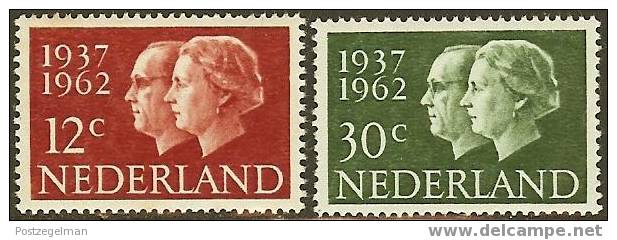 NEDERLAND 1962 OMP Zegel(s) Jubileum 772-773 #690 - Unused Stamps