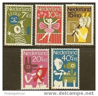 NEDERLAND 1964 OMP Zegels Kind 830-834 #835 - Period 1949-1980 (Juliana)