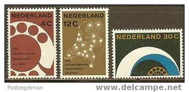 NEDERLAND 1962 OMP Gelegenheid 779-781 #696 - Period 1949-1980 (Juliana)