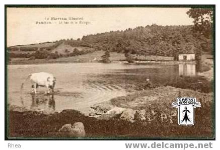 21 Saulieu - Saulieu - Le Lac De La Bologne - Sépia - Saulieu