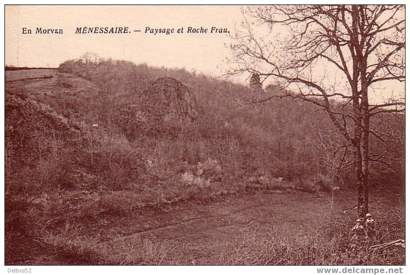 En Morvant   -   Ménessaire   -   Paysage Et Roche Frau - France