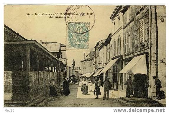 La Grand´Rue - Coulonges-sur-l'Autize