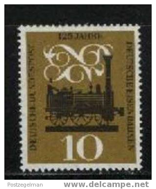 GERMANY 1960 Mint Hinged Stamp(s) Railways 345 # 1466 - [7] Federal Republic