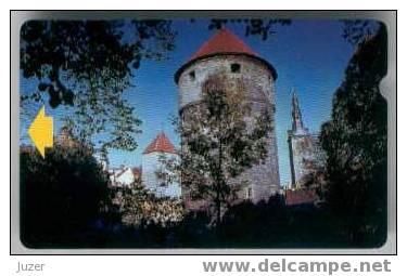 Estonia. Castle In The Wood. C-card - Estonia
