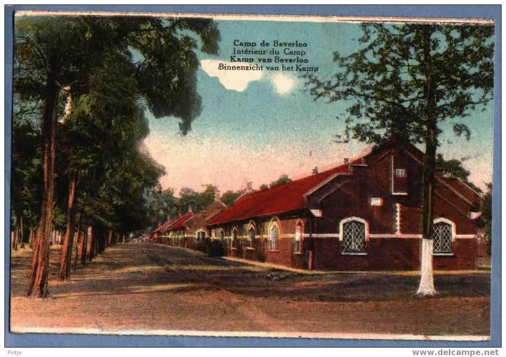 * Leopoldsburg - Camp De Beverloo - Kamp Van Beverlo * Intérieur Du Camp, Binnenzicht, Caserne, Armée Belge, Leger, Army - Leopoldsburg (Camp De Beverloo)