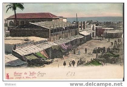 Pal015 / Palästina – Palestine – Bazar De  Jaffa – 1903, Neu - Palästina