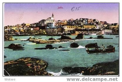 Pal019 / Palästina – Palestine – Jaffa Von Der Seeseite Aus Gesehen - Palästina