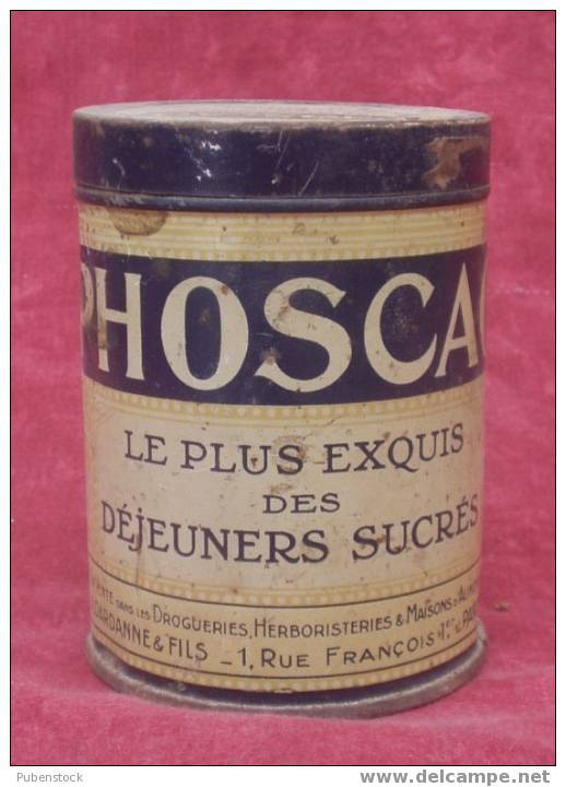 "Boîte Métal ""PHOSCAO"" Chocolat Petit Modèle. - Boîtes"