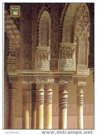 Granada No 118 Alhambra Patio De Los Leones - Granada