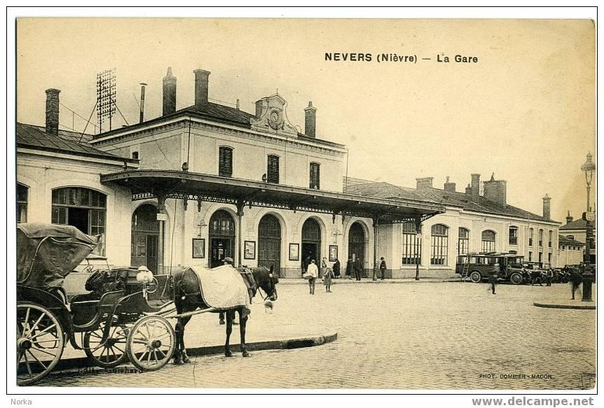 58 - NEVERS. La Gare. - Nevers
