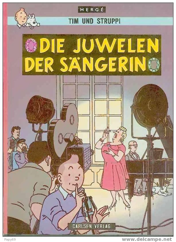 TIM UND STRUPPI - DIE JUWELEN DER SÄNGERIN - Tim Und Struppi (Tintin)