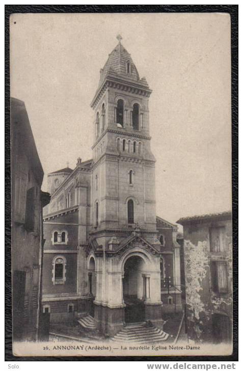 ANNONAY - La Nouvelle Eglise Notre-Dame - Annonay