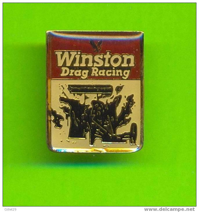 PIN'S - WINSTON DRAG RACING - BACK : 1988 RJRTC - - Automobile - F1