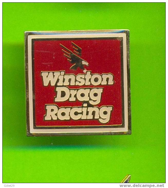 PIN'S - WINSTON DRAG RACING - IN THE BACK: SME - - Automobile - F1