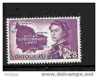 Norfolk Island-1960 Local Government MNH - Norfolk Island