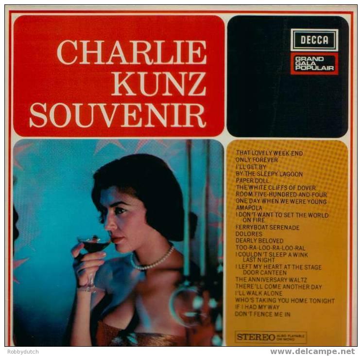 * LP * CHARLIE KUNZ - SOUVENIR On Decca - Jazz