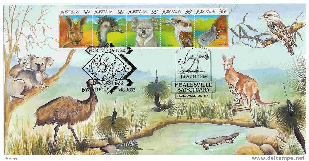 Australia-1986 Wildlife   Maximum Card - Birds