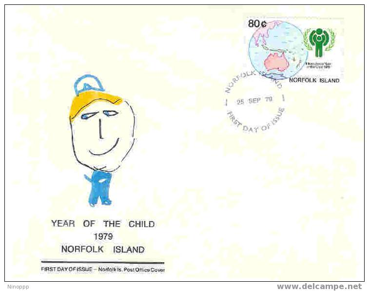 Norfolk Island-1979 Year Of The Child FDC - Norfolk Island