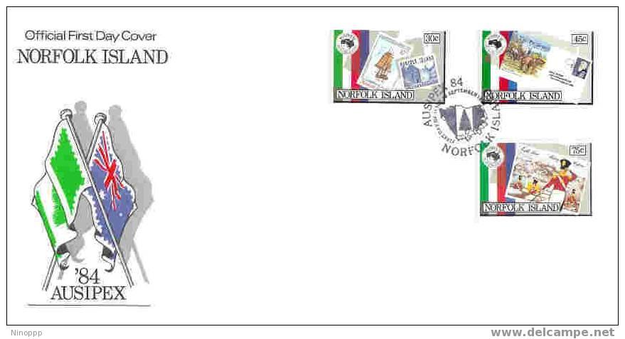 Norfolk-1984 Ausipex  FDC - Norfolk Island