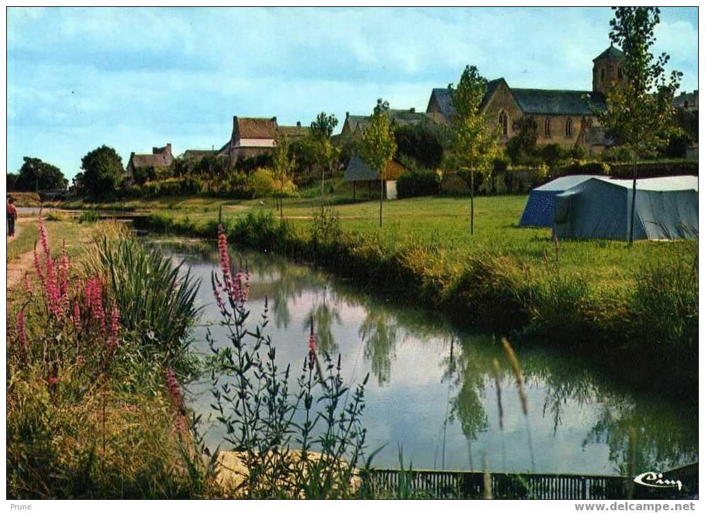 Mayenne > La Bazouge De Chemere - Le Camping - L'étang Et Le Bourg - Combier - France