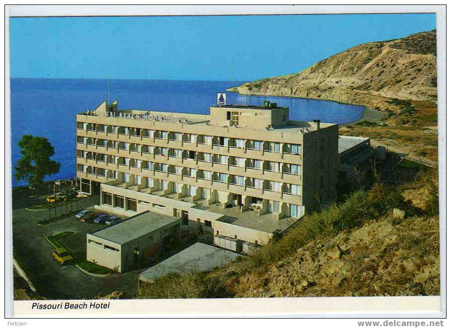CHYPRE. PISSOURI. L'Hôtel De La Plage. - Chypre