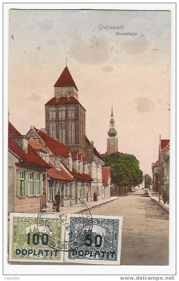 AK GREIFSWALD  R*3040 - Greifswald