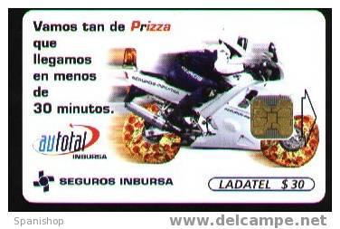 Mexico Moto And Pizza Wheels. - Alimentación