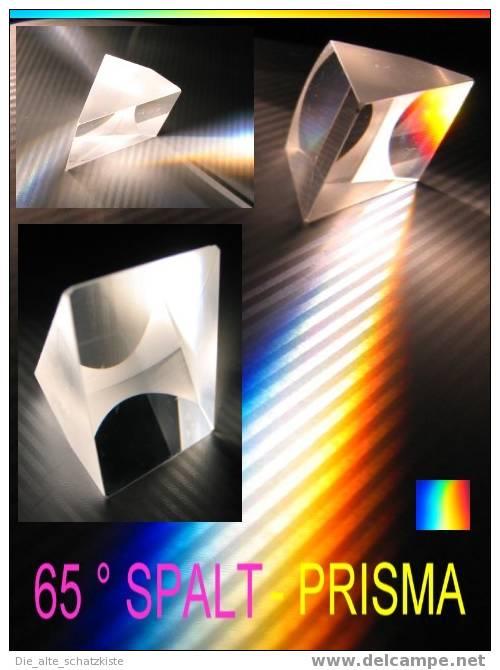 65 ° SPALTPRISMA PRÄZISIONSOPTIK 38 X 35 X 28 MM - Prismas