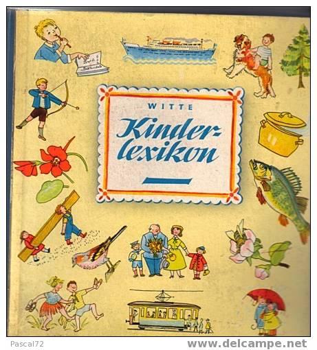 WITTE KINDER LEXIKON LEXIQUE ILLUSTRE EN ALLEMAND POUR ENFANTS - Lexiques